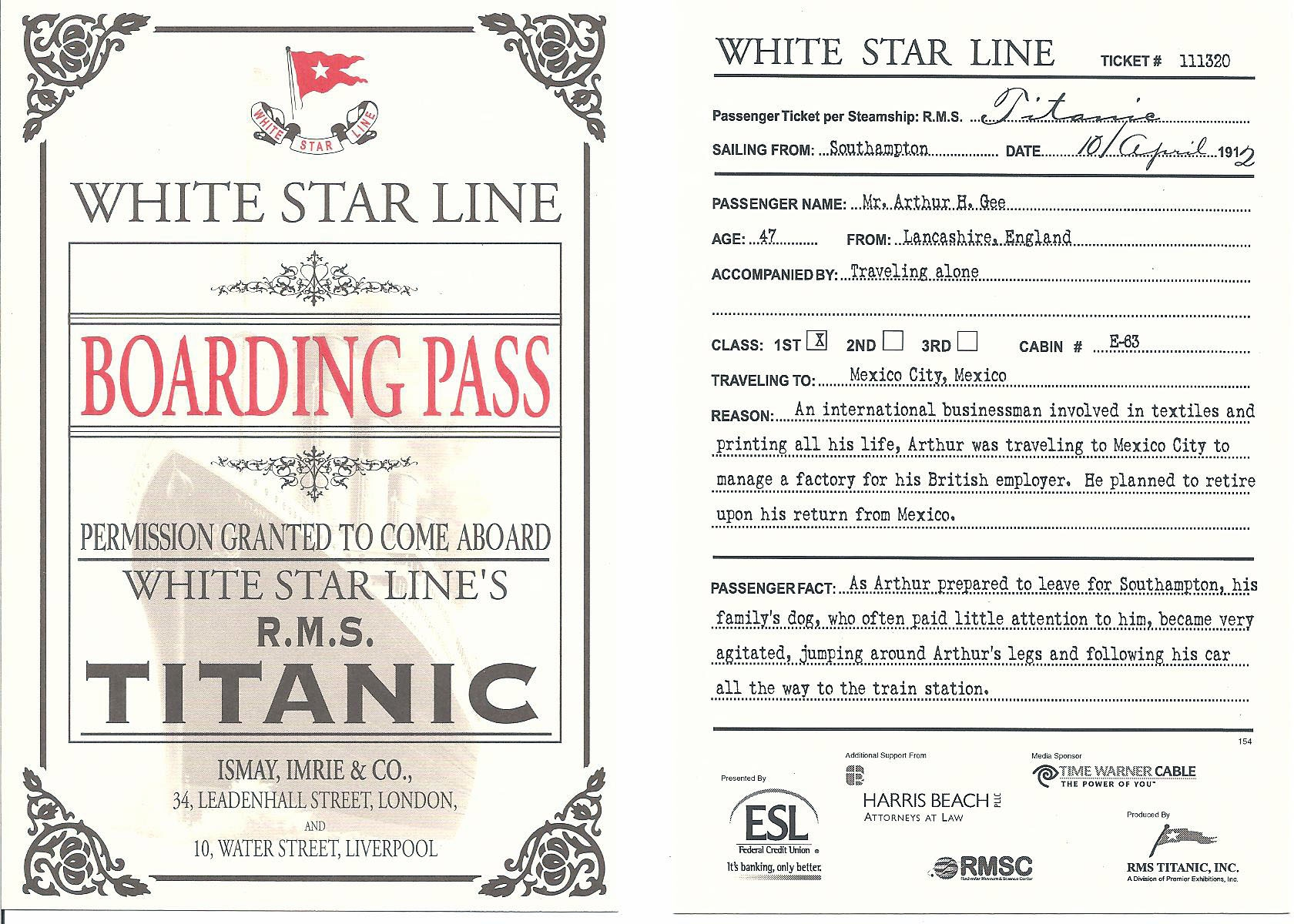 Invitation: 40th Birthday Party with Titanic Theme | Kangaroo Digital