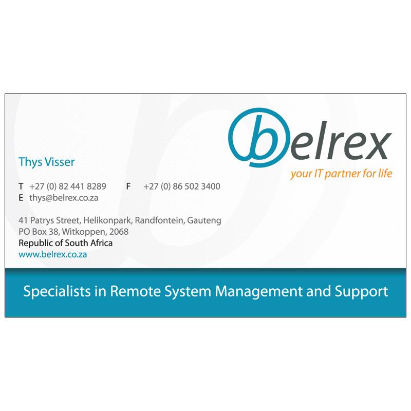 Business cards kangaroo digital business card belrex 01 reheart Gallery