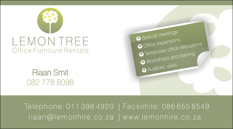 Lemon tree office furniture hire business card kangaroo digital business card lemontree finalr colourmoves