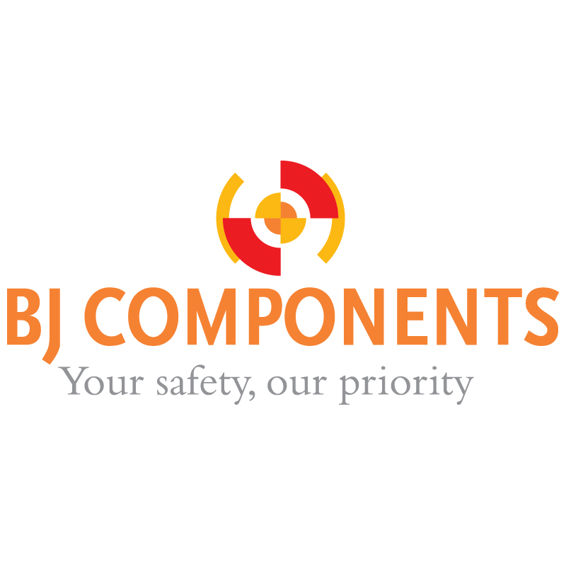 BJ Components New Logo And Corporate Identity