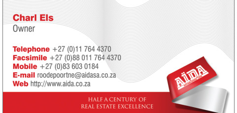Aida Roodepoort: Business Card Design