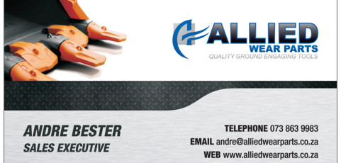 Allied Wear Parts: Business Card Design