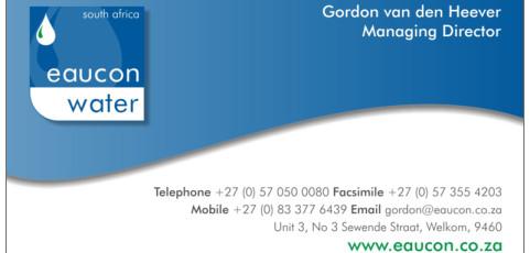 Eaucon Water: Business Card Design