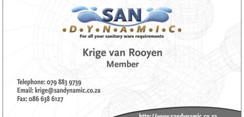 San Dynamic: Business Card Design