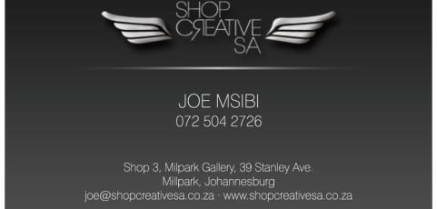Shop Creative SA: Business Card Design