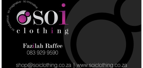 Soi Clothing: Business Card Design