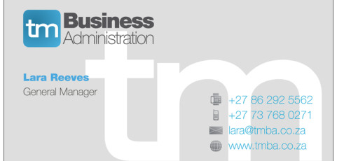 TM Business Administration: Business Card Design