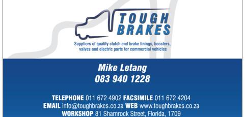 Tough Brakes: Business Card Design