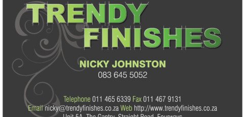 Trendy Finishes: Business Card Design