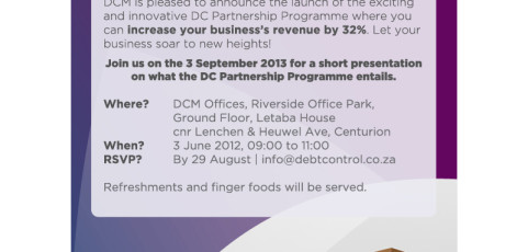 Invitation: DCM Partnership Programme