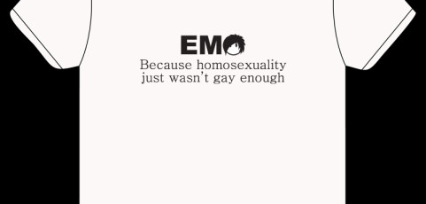 T-Shirt Design: Emo