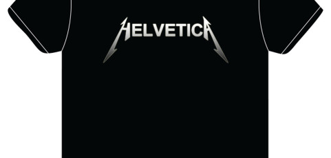 T-Shirt Design: Metallica/Helvetica