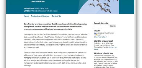 Website: DCM Care Premier