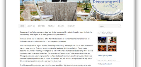 Website: Decorange-It