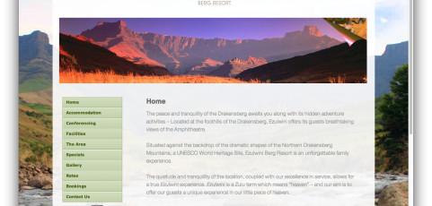 Website: Ezulwini Berg Resort