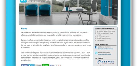 Website: TM Business Administration